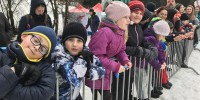 Víkendovka s Káťou - blbnutí na sněhu v Rudě