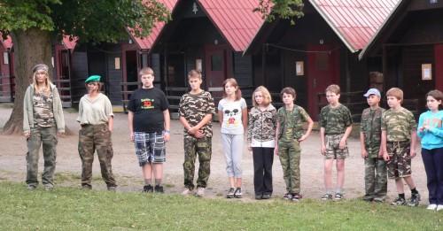 Letní tábor - 1. možnost