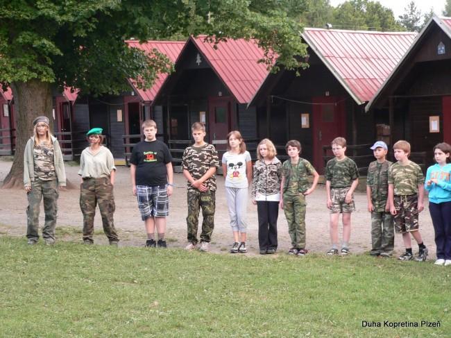 Letní tábor - Dobčické tábořiště